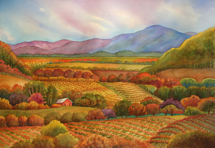 Napa October Light, Jessel Miller